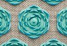 Fleur de tapis d'acupression