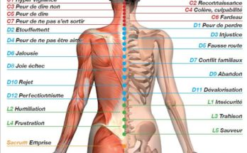 Symbolique du corps, les points du dos