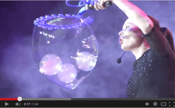 la magie des bulles | Ana Yang
