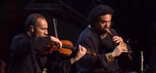 vidéo duduk et violon