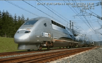 record du monde du TGV