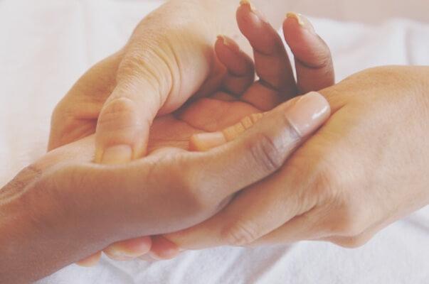 Réflexologie palmaire, Réflexologie de la main