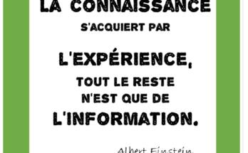 Connaissance et expérience
