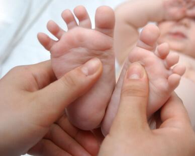 enfants bébés acupression