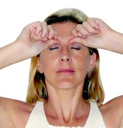 acupression pour les yeux