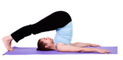 yoga posture de la Charrue, Halasana