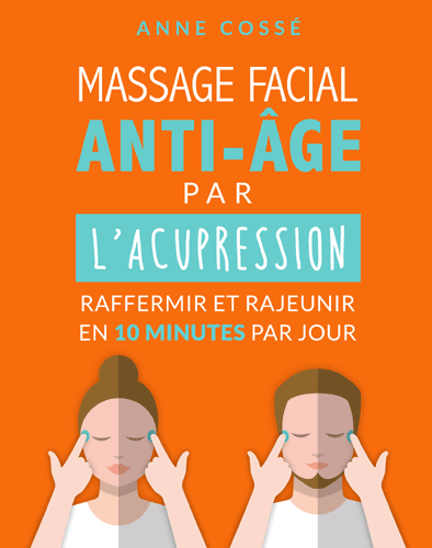 massage facial anti-âge, acupression pour le visage